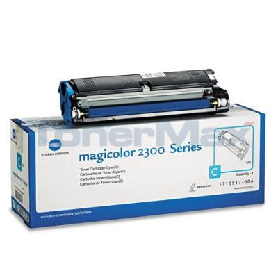 QMS MAGICOLOR 2300 TONER CYAN 1.5K